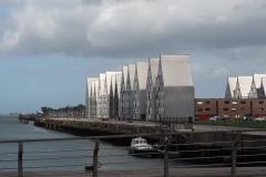 Dunkerque am Hafen