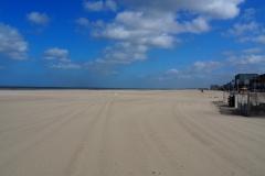 Weiter geschichtsträchtiger Strand