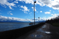 Weg am Ufer