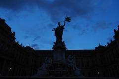 Blaue Stunde an der Residenz